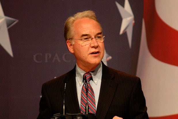 Tom Price Reportedly Spent $60000 on Private Jets Last Week