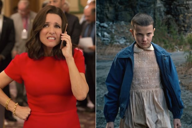 Veep Stranger Things
