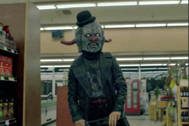 Image result for American Horror Story Cult Twin Clowns Grocery Store