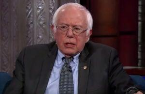 Bernie Sanders Colbert
