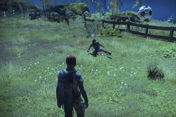 Destiny 2' Has a Farm Where You Can Play Soccer With Other Players