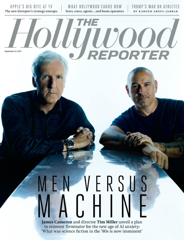 hollywood reporter cover james cameron tim miller