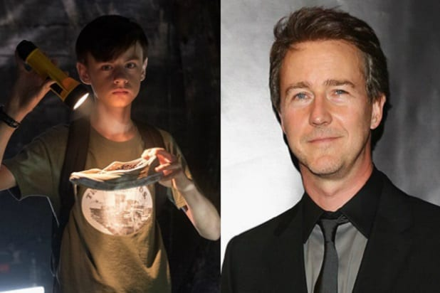 it fan cast bill denbrough edward norton