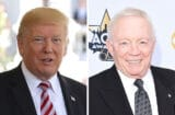 donald trump jerry jones nfl