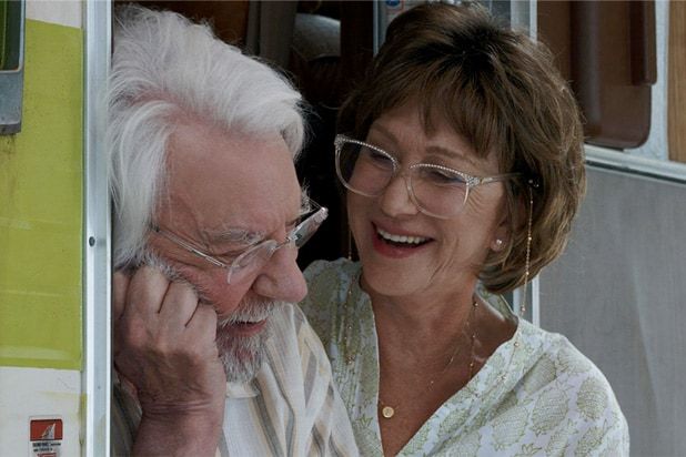 leisure seeker helen mirren donald sutherland