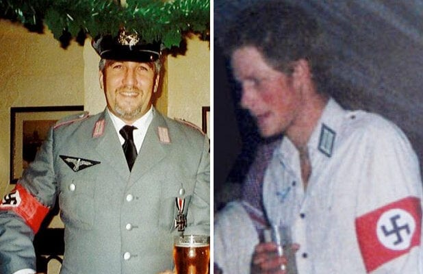 nazi costume paul hollywood prince harry