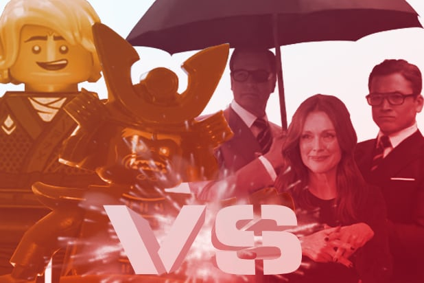 Could Kingsman Or Lego Ninjago Dethrone It As Box Office Champ