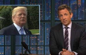 Seth Meyers Trump