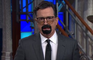 Stephen Colbert as Steven Seagal