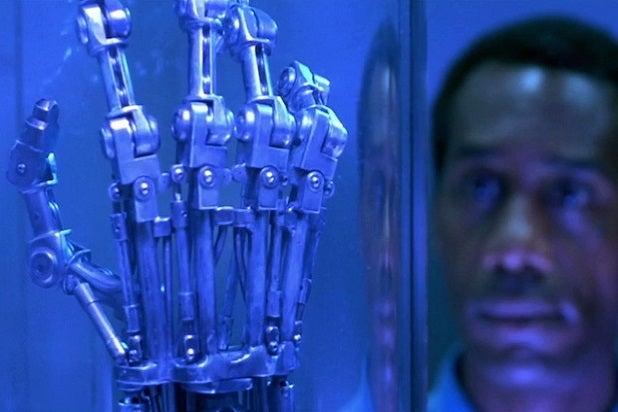 terminator timeline cyberdyne arm terminator 2