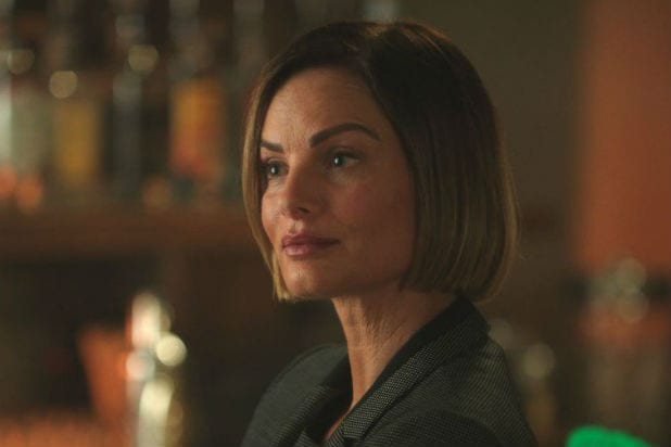 """Gabrielle Anwar as Victoria Belfrey on """"Once Upon a Time"""" Season 7"""