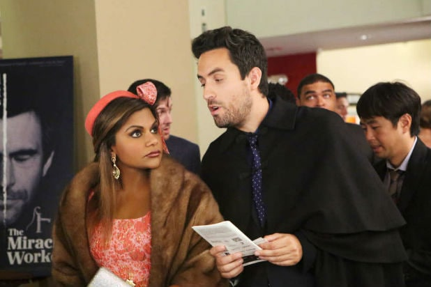 "Mindy Kaling and Ed Weeks on ""The Mindy Project"""