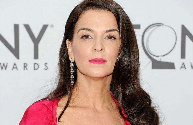 Annabella Sciorra at the Tony Awards in 2011
