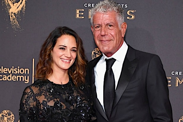 Anthony Bourdain Asia Argento