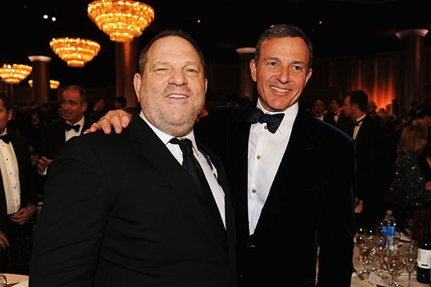 Bob Iger Harvey Weinstein