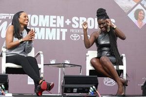 Cari Champion Bozoma Saint John espnW Summit