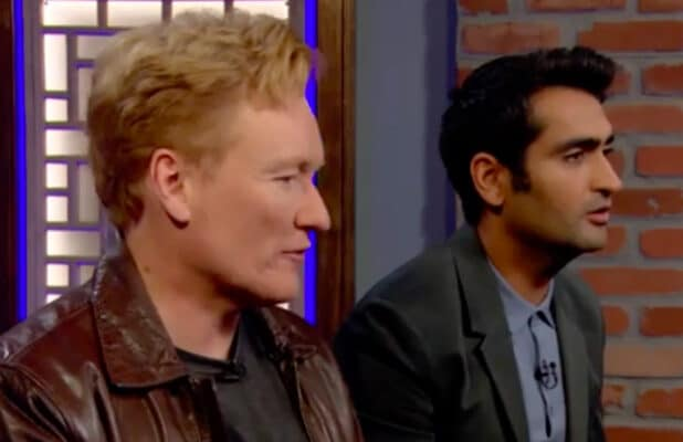Conan O'Brien and Kumail Nanjiani in 'Clueless Gamer'