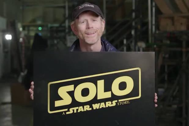 Han Solo Ron Howard