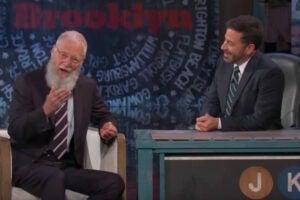 David Letterman on 'Jimmy Kimmel Live'