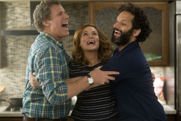 Will Ferrell, Amy Poehler and Jason Mantzoukas in 'The House'