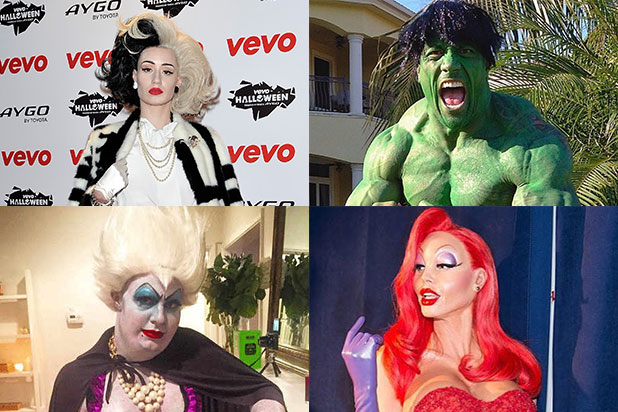 29 top celebrity halloween costumes from colton haynes to heidi klum photos
