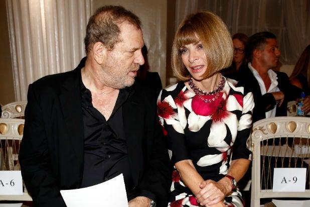 Harvey Weinstein anna wintour