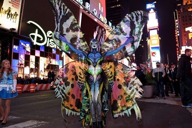 Heidi Klum Butterfly