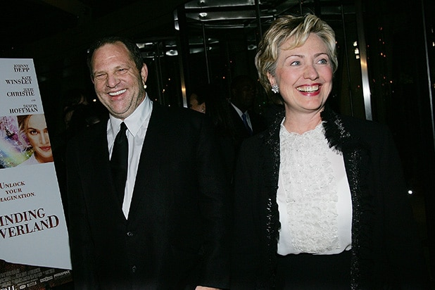 Harvey Weinstein Hillary Clinton