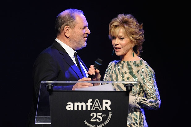 Jane Fonda Harvey Weinstein