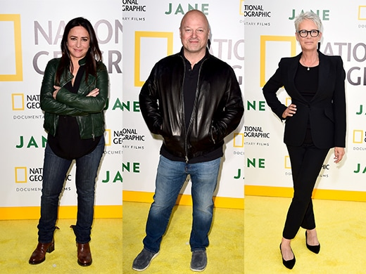 Pamela Adlon, Michael Chiklis, and Jamie Lee Curtis (Nat Geo)