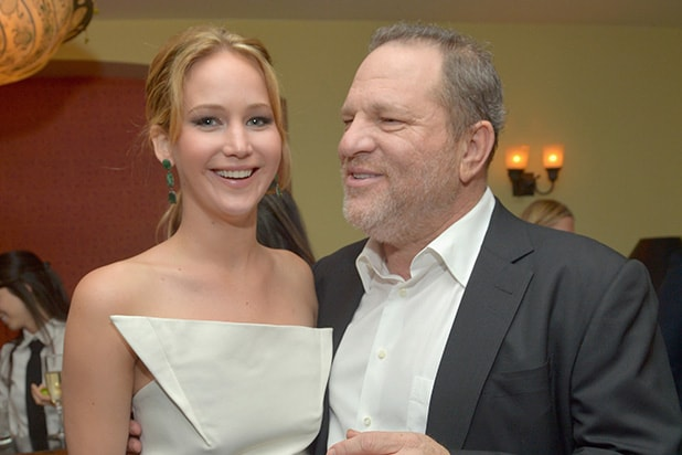 Jennifer Lawrence Harvey Weinstein