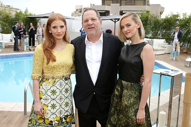 Jessica Chastain Harvey Weinstein