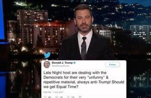 Jimmy Kimmel Trump Tweets