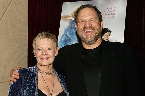 Judi Dench Harvey Weinstein