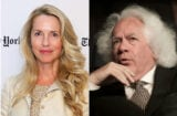 Leon Wieseltier and Laurene Powell Jobs