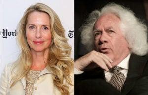 Leon Wieseltier and Laurene Powell Jobs