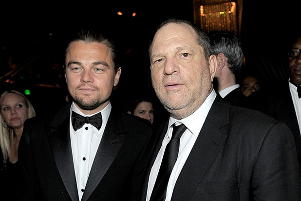 Leonardo DiCaprio Harvey Weinstein