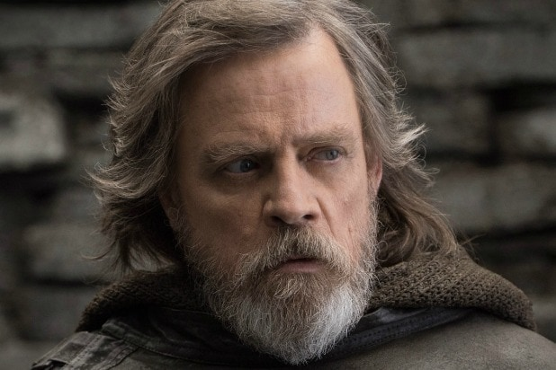 Luke Skywalker Mark Hamill Star Wars The Last Jedi