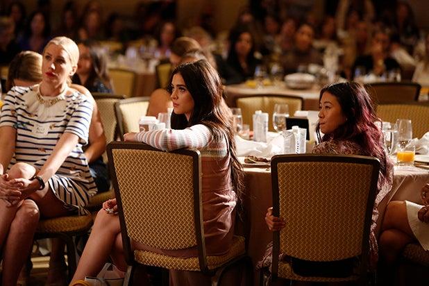 Luna Blaise and audience Power Women Breakfast LA 2017