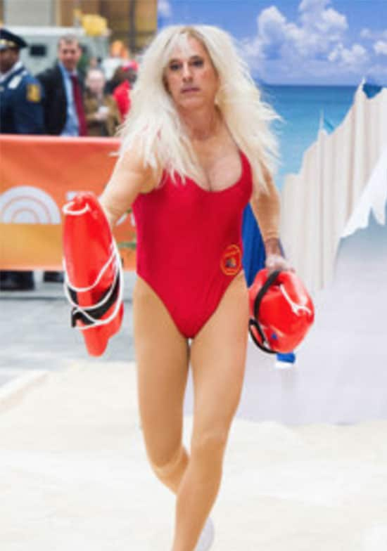 Matt Lauer Pamela Anderson