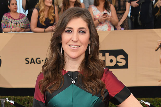 60c50cce91  Big Bang Theory  Star Mayim Bialik Says She s  Mopey  About Amy s Wedding  Dress Episode (Video)