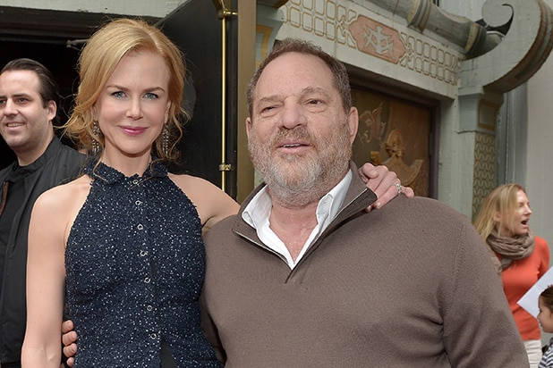 Nicole Kidman Harvey Weinstein