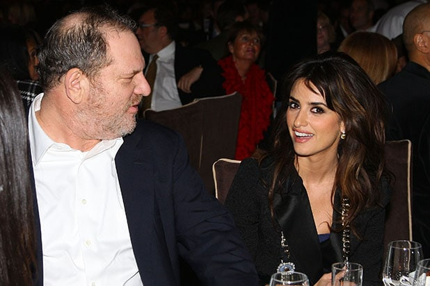 Penelope Cruz Harvey Weinstein