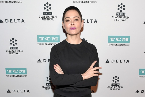 Rose McGowan Tweets Cryptic Image From Her Movie 'Phantoms': 'This Is When It Happened'