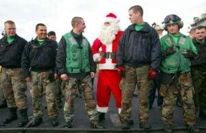 Santa Claus air force