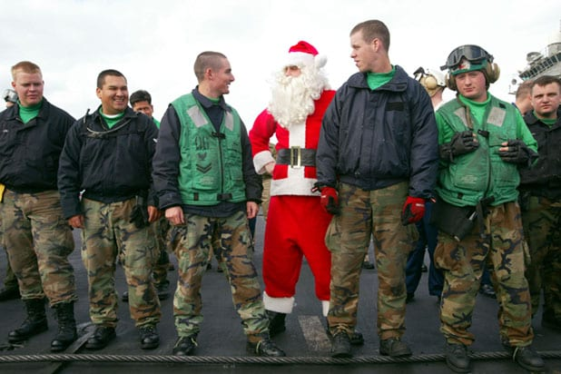 US Air Force Denies Existence Of Santa Claus