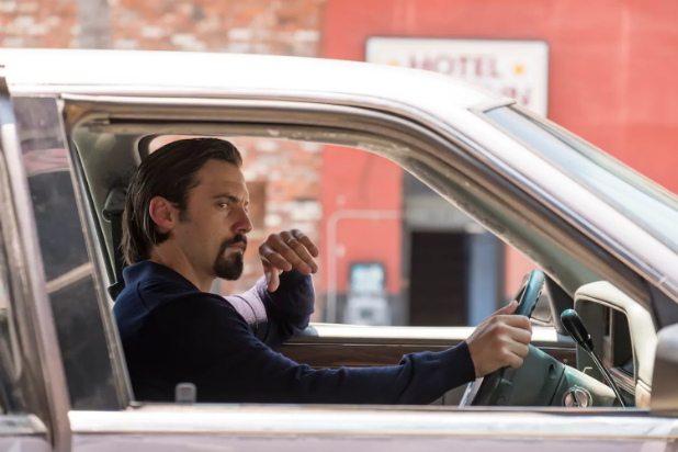 "Milo Ventimiglia as Jack Pearson on ""This Is Us"" Season 2"