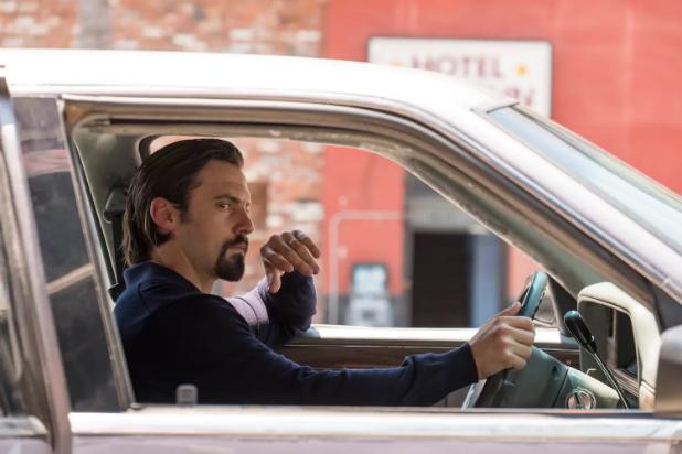 "Milo Ventimiglia as Jack Pearson on ""This Is Us"" Season 2"