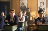 "KJ Apa as Archie Andrews and Charles Melton as Reggie Mantle on ""Riverdale"" Season 2"