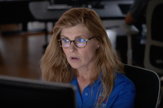 "Connie Britton on Ryan Murphy's ""9-1-1"""